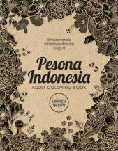 Pesona Indonesia: Adult Coloring Book