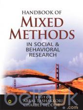 Handbook of Mixed Methods in Social and Behavioral Research